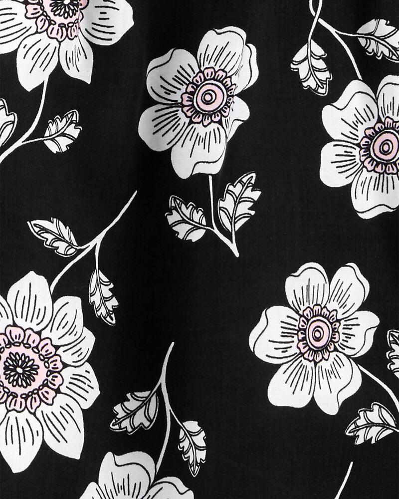 2-Piece Floral Tee & Short Set, , hi-res