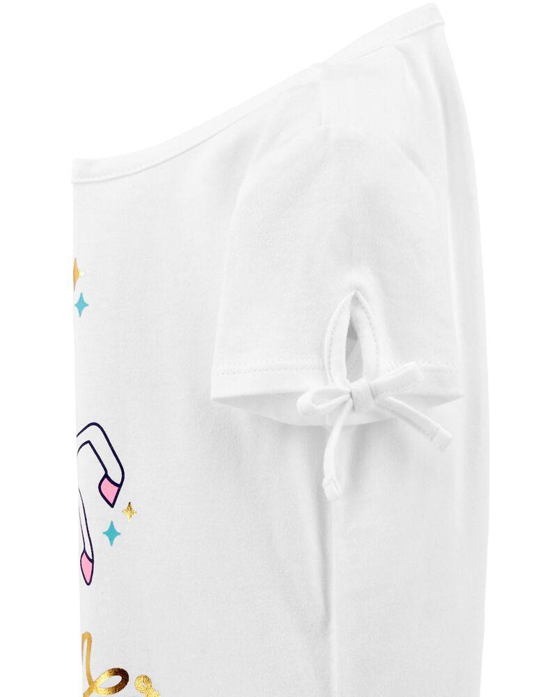 Unicorn Power Tie-Sleeve Tee, , hi-res