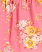Floral Ruffle Top, , hi-res