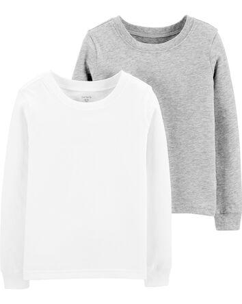 2-Pack Cotton Undershirts