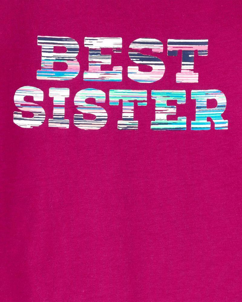T-shirt en jersey Best Sister, , hi-res