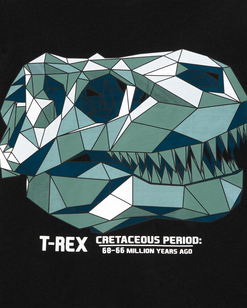 T-shirt à crâne de tyrannosaure, , hi-res