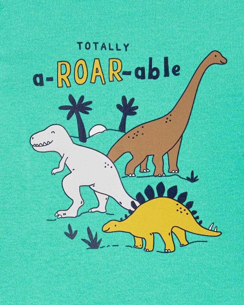 Ensemble 2 pièces cache-couche et pantalon à dinosaure, , hi-res