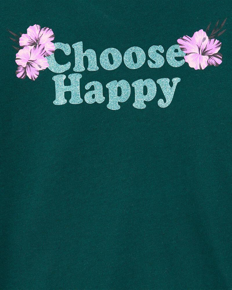 Tween Choose Happy Tee, , hi-res
