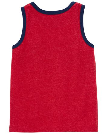 Colourblock Pocket Tank