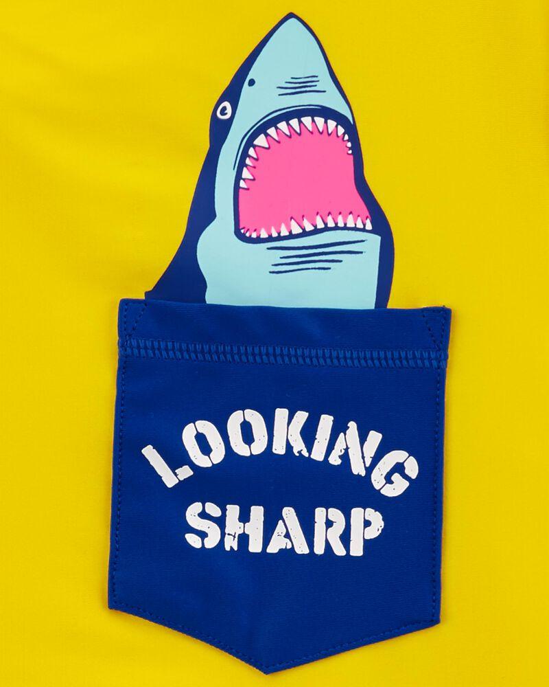 Shark Pocket Rashguard, , hi-res