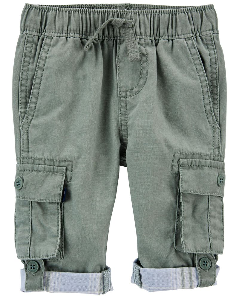 Pull-on Convertible Cargo Pants, , hi-res