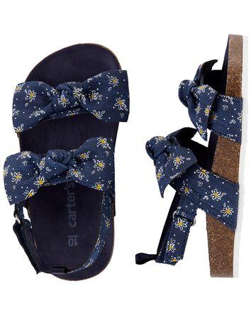Sandales à nœuds