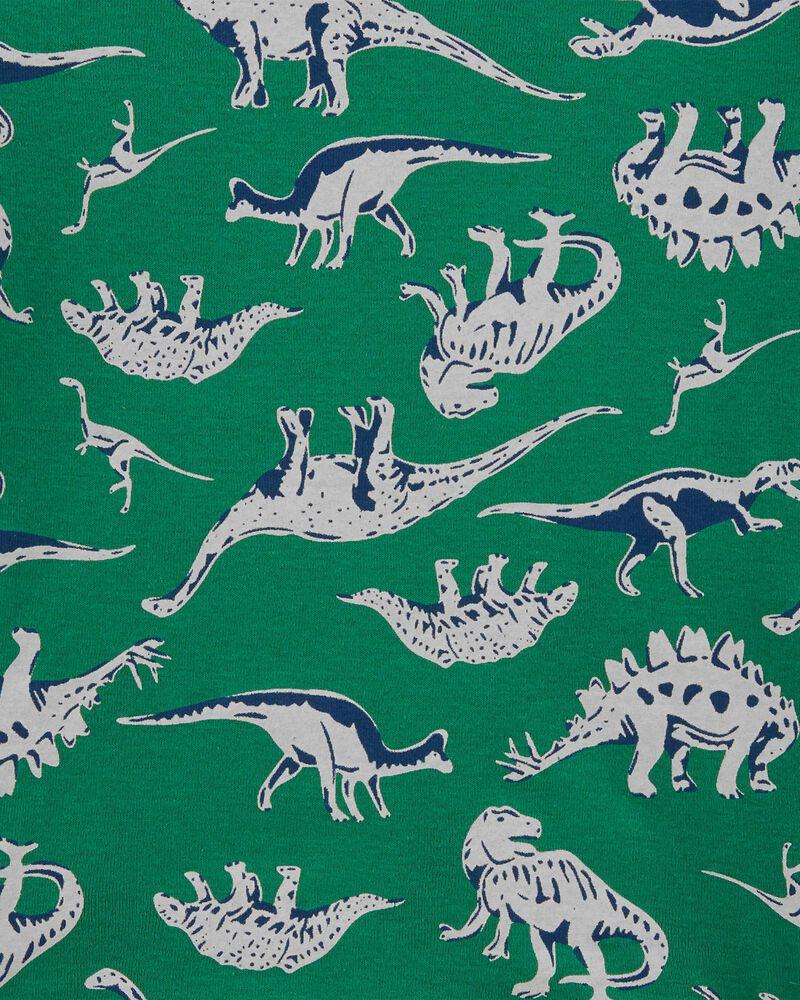 4-Piece Dinosaur Snug Fit Cotton PJs, , hi-res