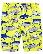 Maillot de bain à imprimé requins, , hi-res