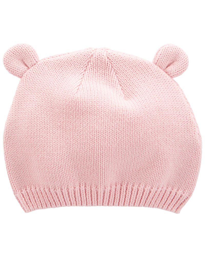 Bear Ear Hat, , hi-res