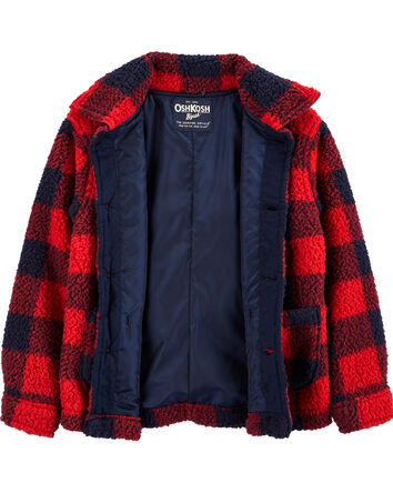 Buffalo Check Sherpa Jacket