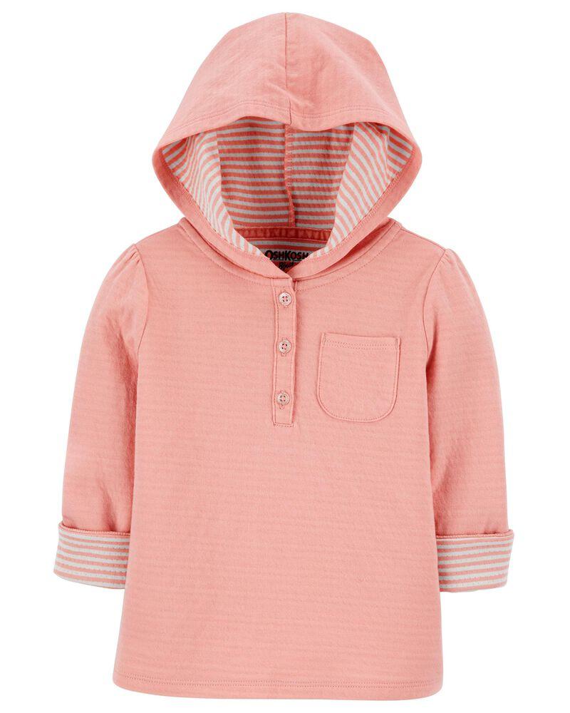 Hooded Pocket Pullover, , hi-res