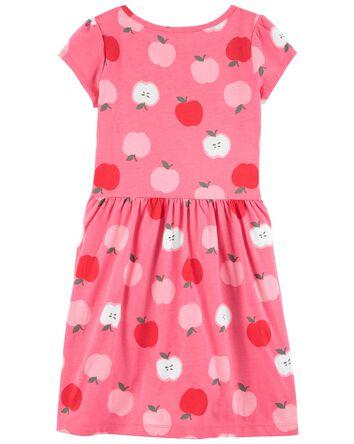 Apple Jersey Dress