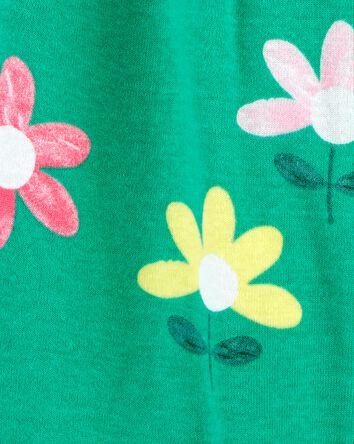 Floral Snap-Up Romper
