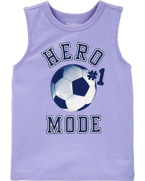 Soccer Muscle Tank