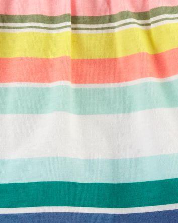 3-Piece Striped Little Short Set