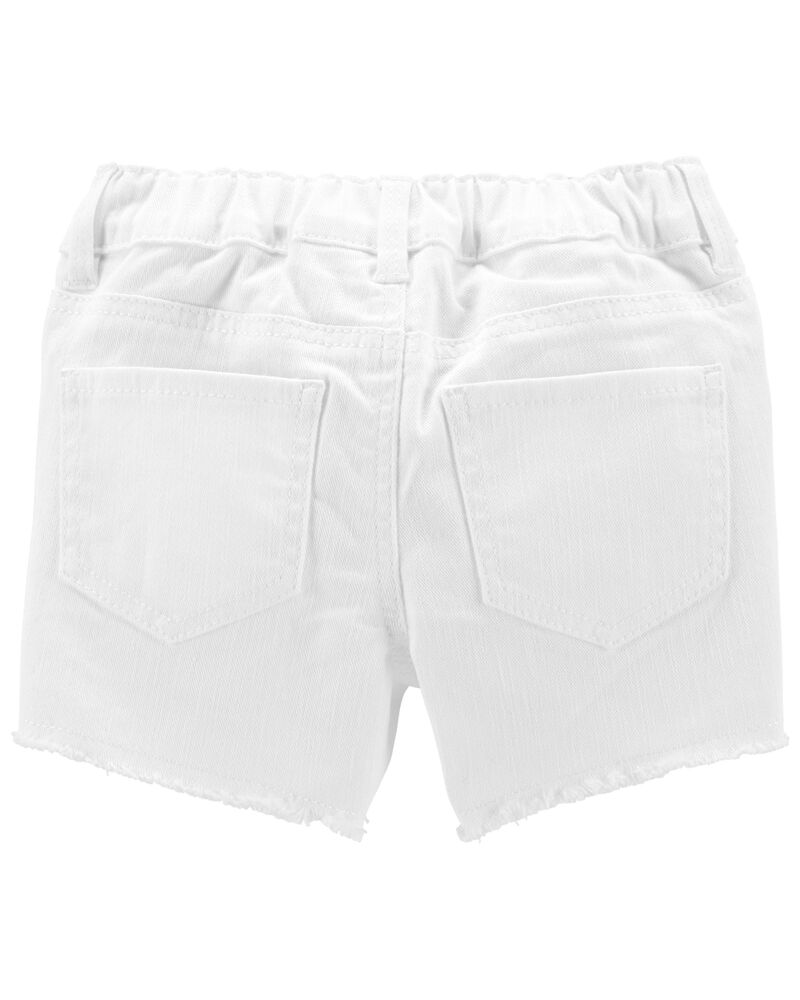 Stretch Denim Shorts , , hi-res