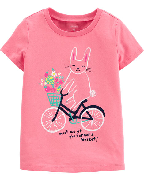 T-shirt en jersey Farmer's Market Bunny