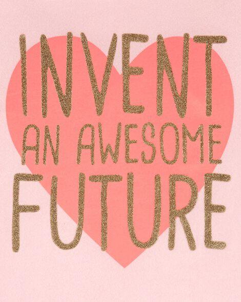 Awesome Future Hi-Lo Slub Tee