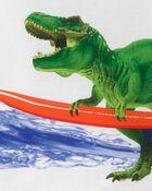 3-Piece Dinosaur Poly PJs, , hi-res