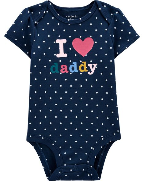 I Love Daddy Original Bodysuit