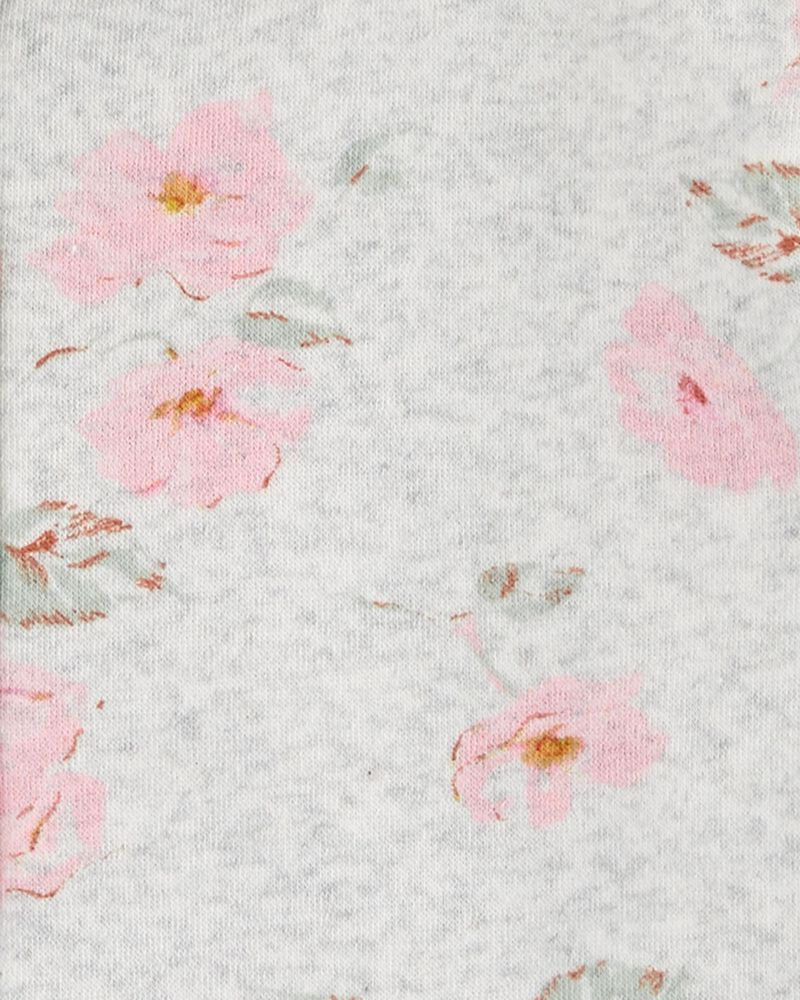 Floral Fleece Hoodie, , hi-res