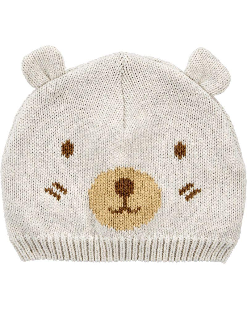Baby Bear Beanie, , hi-res