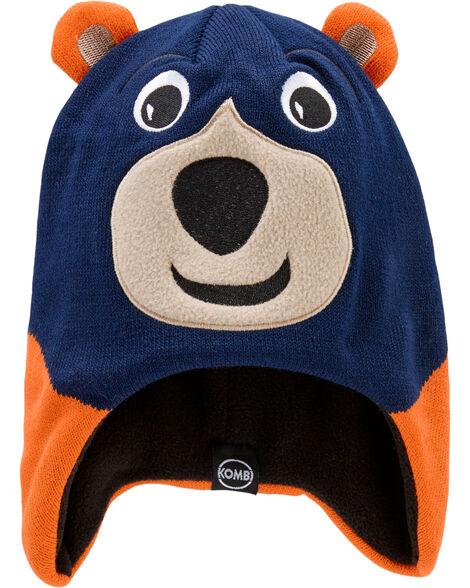 Fleece-Lined Benji The Bear Knit Hat