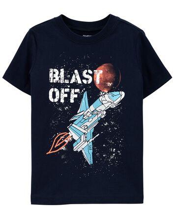 T-shirt à imprimé original qui bril...