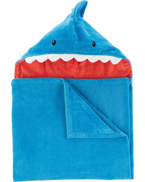 Serviette à capuchon requin