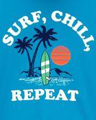 Maillot dermoprotecteur Surf, Chill, Repeat , , hi-res
