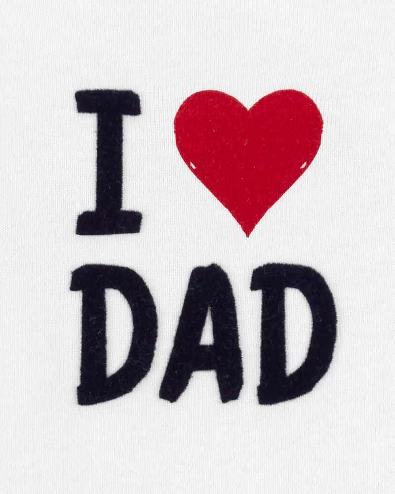 Cache-couche à imprimé I Love Dad, , hi-res