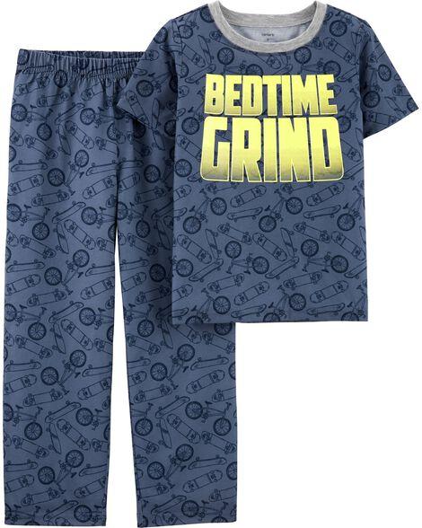 Pyjama 2 pièces en polyester Bedtime Grind