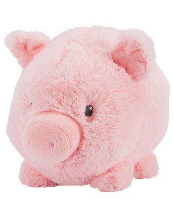 Cochon en peluche
