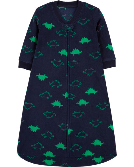 Dinosaur Fleece Sleep Bag