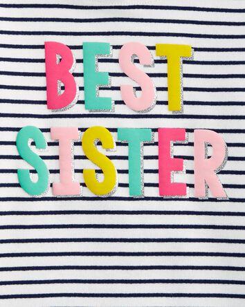 2-Piece Best Sister Hoodie & Leggin...