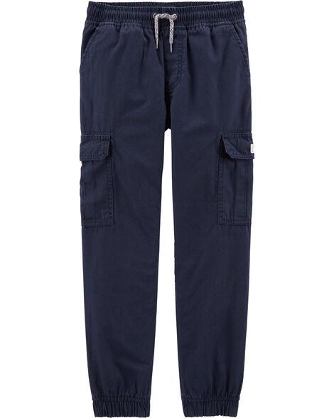 Pantalon de jogging cargo en toile