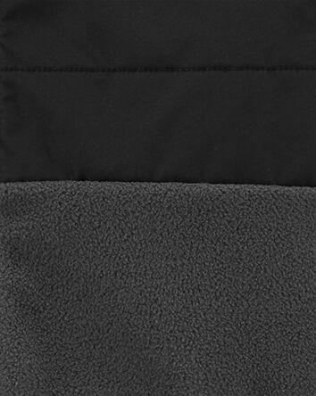 Veste molletonnée à glissière