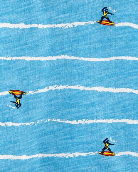 Surfing Ninja Jersey Polo