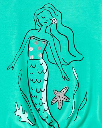 3-Piece Mermaid Loose Fit PJs