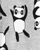 1-Piece Panda 100% Snug Fit Cotton Footie PJs, , hi-res