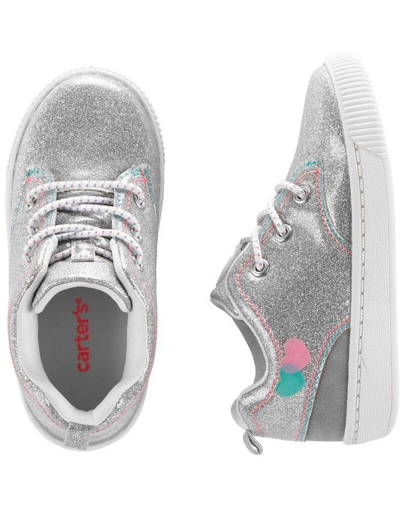 Glitter High Top Sneakers, , hi-res