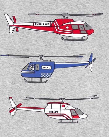 Helicopter Jersey Tee