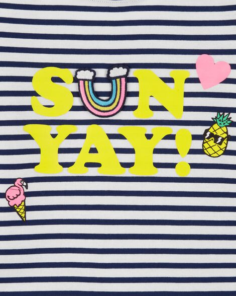 Striped Sunyay Top