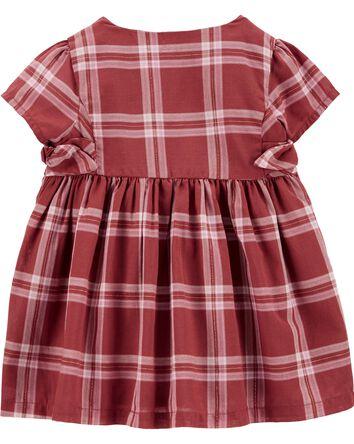 Plaid Bow Dress