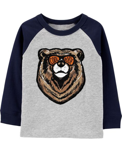 T-shirt en jersey Bear Cool Dude
