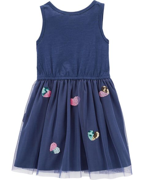 Heart Tulle Dress