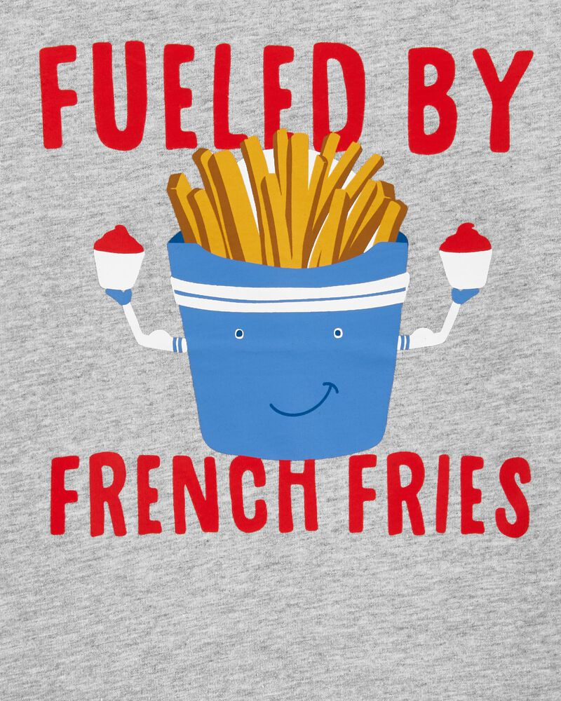 Fueled By French Fries Jersey Tee, , hi-res
