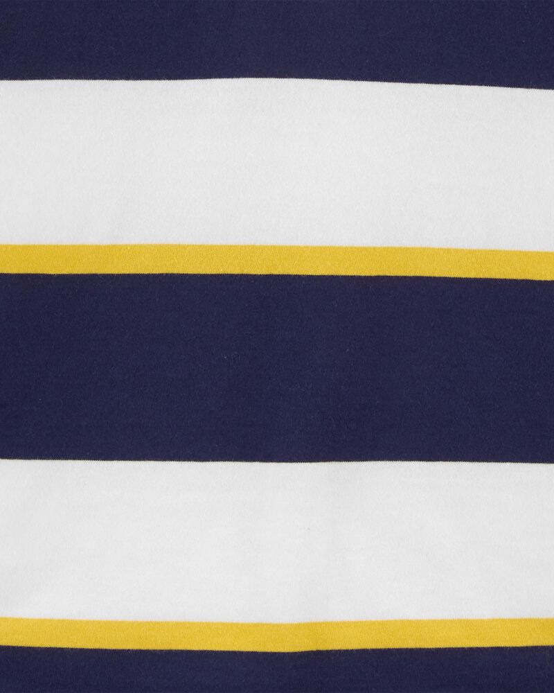 Striped Jersey Polo, , hi-res